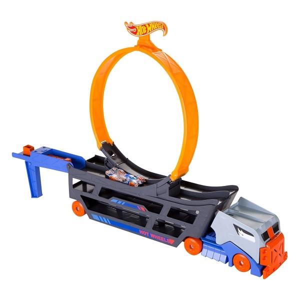 Mattel GWT38 - Hot Wheels - Spielset, Stunt-Show, Stunt N Go