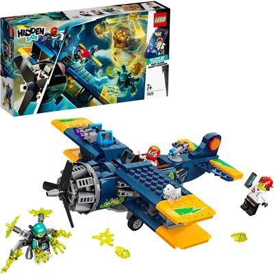 Lego 70429 - Hidden Side - El Fuegos Stunt-Flugzeug