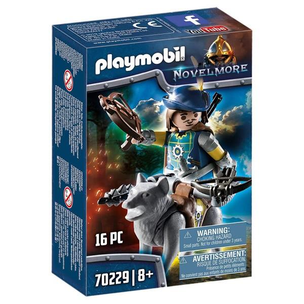PLAYMOBIL® 70229 - Novelmore - Armbrustschütze mit Wolf