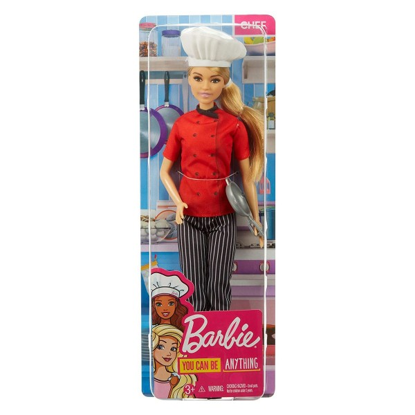 Mattel FXN99 - Barbie - You can be anything - Köchin, Puppe