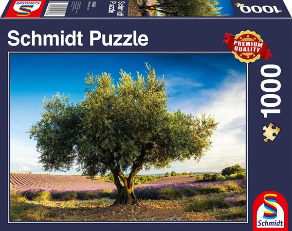 Schmidt 58357 - Premium Quality - Olivenbaum in der Provence, 1000 Teile