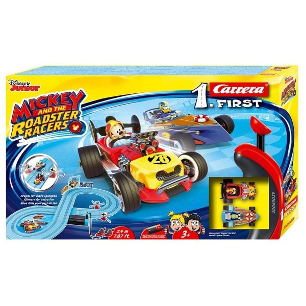 Stadlbauer 20063029 - Carrera 1.First - Disney Junior Mickey and the Roadster Racers - Rennstrecke 2