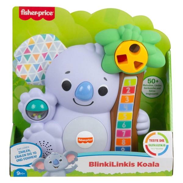 Mattel GRG67 - Fisher-Price - BlinkiLinkis Koala, interaktives Spielzeug