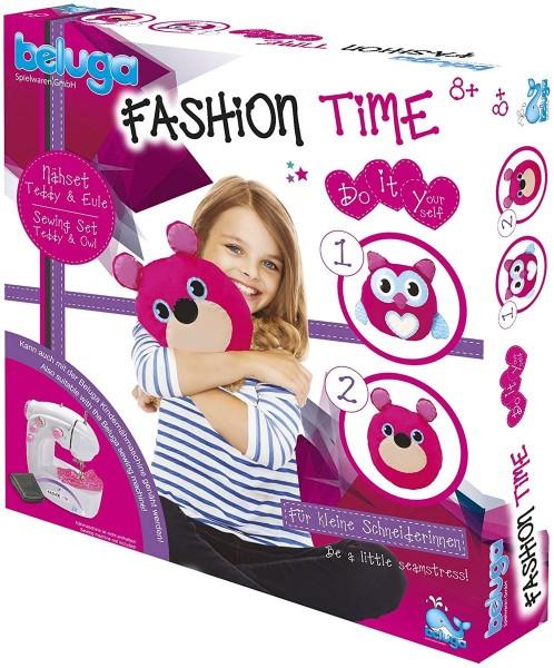 John 33317 - Fashion Time - Nähset, Teddy und Eule