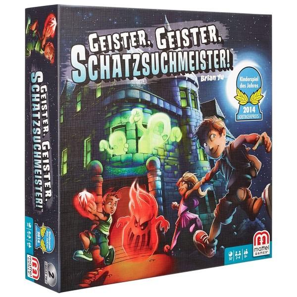 Mattel Y2554 - Geister, Geister, Schatzsuchmeister!