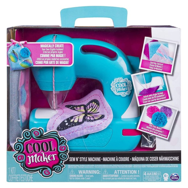 Spin Master 6037849 (20088603) - Cool Maker - Sew Cool, Sew N Style Nähmaschine