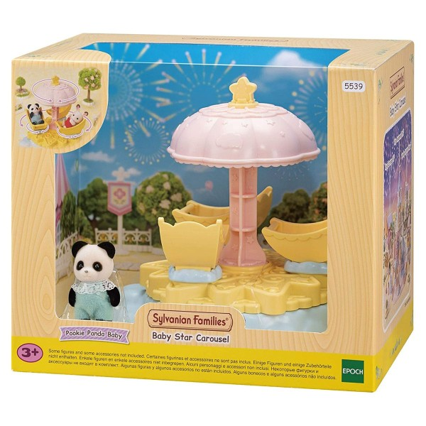 Epoch 5539 - Sylvanian Families - Baby Sternenkarussell
