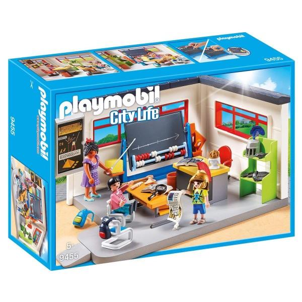 PLAYMOBIL® 9455 - City Life - Klassenzimmer Geschichtsunterricht