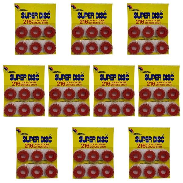 SPAR-SET 181634 - Bauer - XXL-Set - Super Disc, Kinderpistolen Schussringe, Ringmunition, Spielzeugm