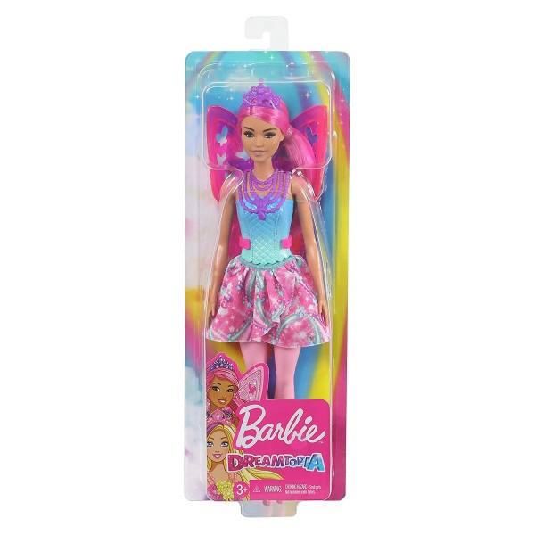 Mattel GJJ99 - Barbie - Dreamtopia - Puppe, Fee mit Flügeln und Diadem