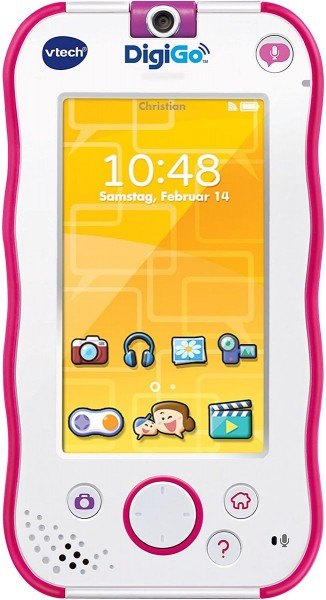V-Tech 80-168854 2.Wahl - Kinder Handkonsole, DigiGo, pink