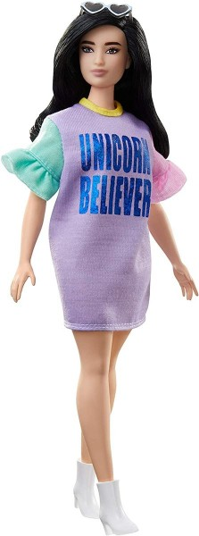 Mattel FXL60 - Barbie - Fashionistas - Puppe mit Herzchenbrille