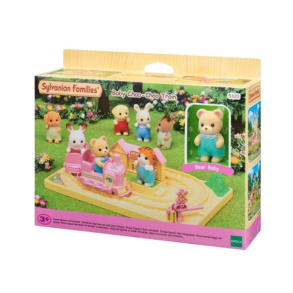 Epoch 5320 2.Wahl - Sylvanian Families - Baby Abenteuer Zug