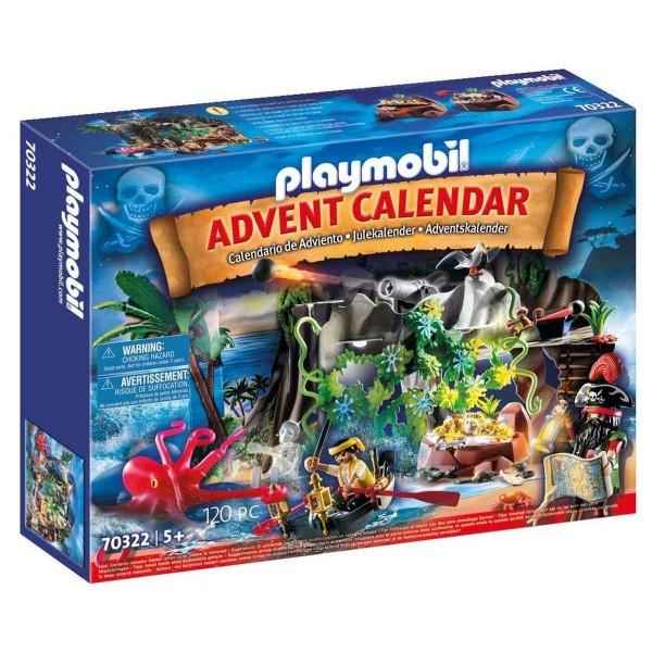 PLAYMOBIL® 70322 - Christmas - Adventskalender - Schatzsuche in der Piratenbucht