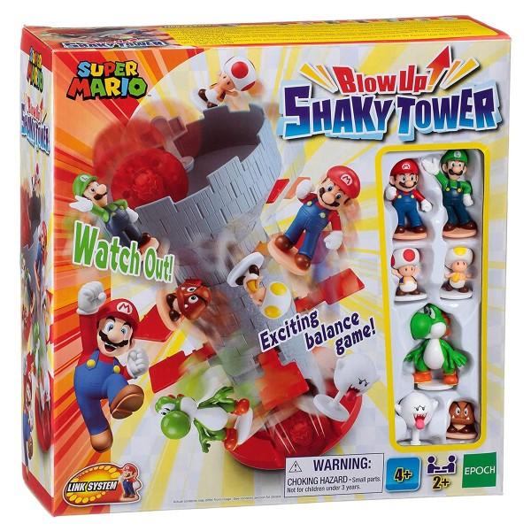 Epoch 7356 - Nintendo - Super Mario - BlowUp! Sharky Tower, Geschicklichkeitsspiel