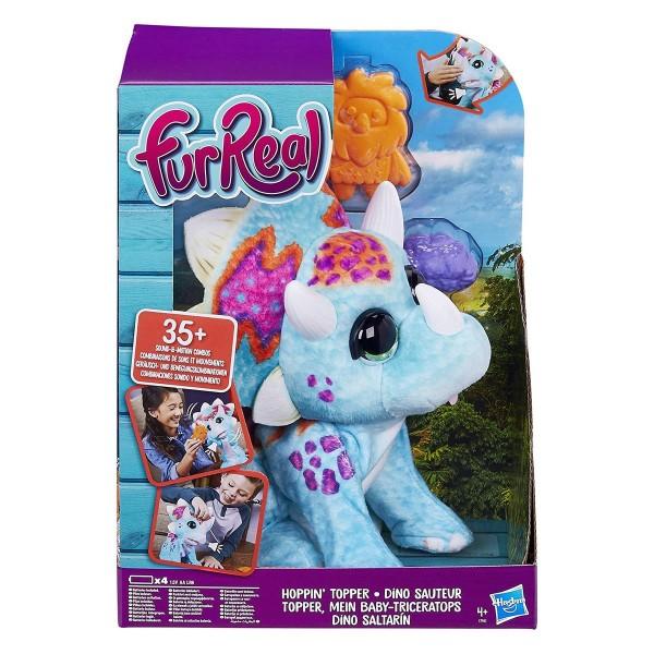 Hasbro E7963EU4 - FurReal - Mein Baby-Triceratops, Topper