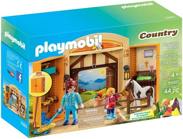 PLAYMOBIL® 5660 - Country - Ponystall Mitnehmbox