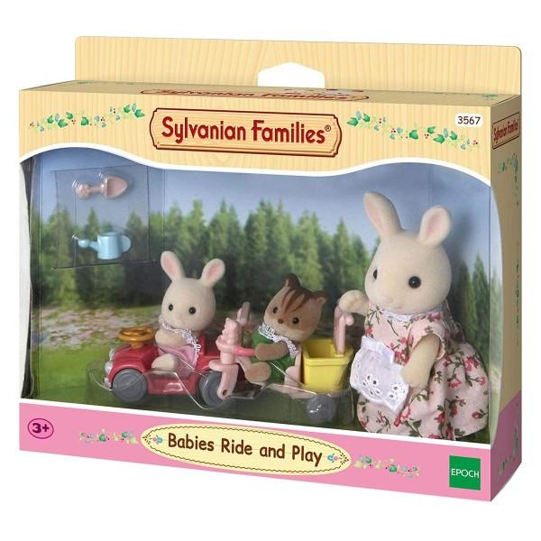 Epoch 5040 (3567) - Sylvanian Families - Babys Fahr- und Spiel-Set