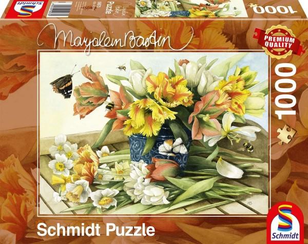 Schmidt 59573 - Premium Quality - Marjolein Bastin -Frühlingsblüher, 1000 Teile Puzzle