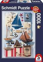 Schmidt 58381 - Premium Quality - Maritimes Potpourri, 1000 Teile Puzzle