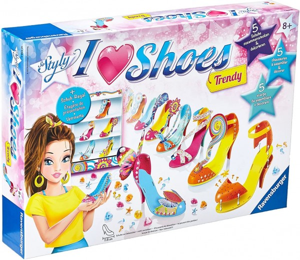 Ravensburger 18698 2.Wahl - So Styly - I Love Shoes Trendy