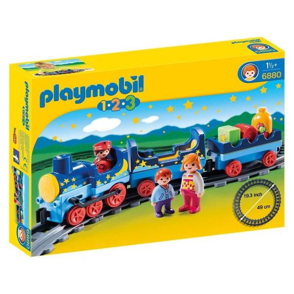 PLAYMOBIL® 6880 - 1•2•3 - Sternchenbahn mit Schienenkreis