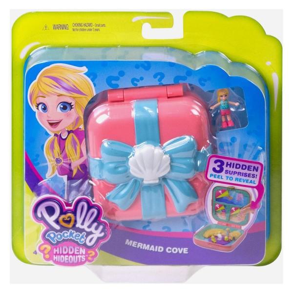 Mattel GDK77 - Polly Pocket - Verborgene Schätze Meerjungfrauenbucht Schatulle