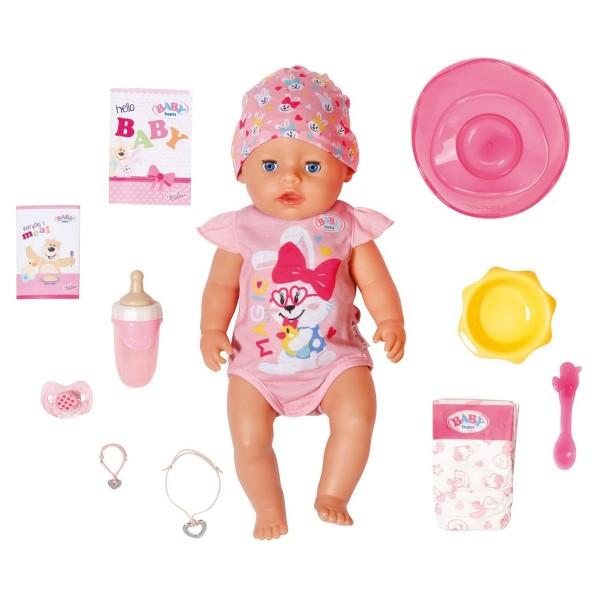 Zapf 827956 - BABY born - Magic Girl Puppe, 43 cm