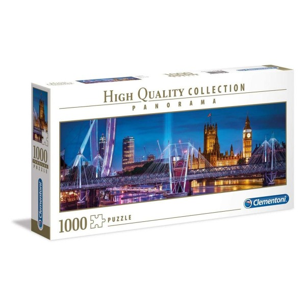 Clementoni 39485 - High Quality Collection - London, Puzzle, 1000 Teile