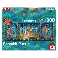 Schmidt 59613 - Premium Quality - Ciro Marchetti - Unterwasserwelt, 1000 Teile Panorama-Puzzle