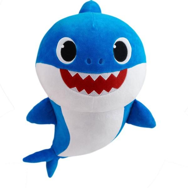 DIV 36472 - Pinkfong - Baby Shark - Daddy Shark, blau