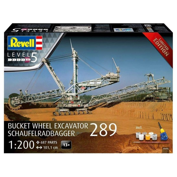 Revell 05685 - Modellbausatz, Schaufelradbagger 289, 101 cm
