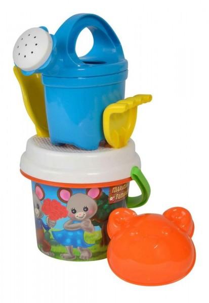 Simba 107114410 - Maximilian Families Baby-Eimergarnitur, Sandspielzeug