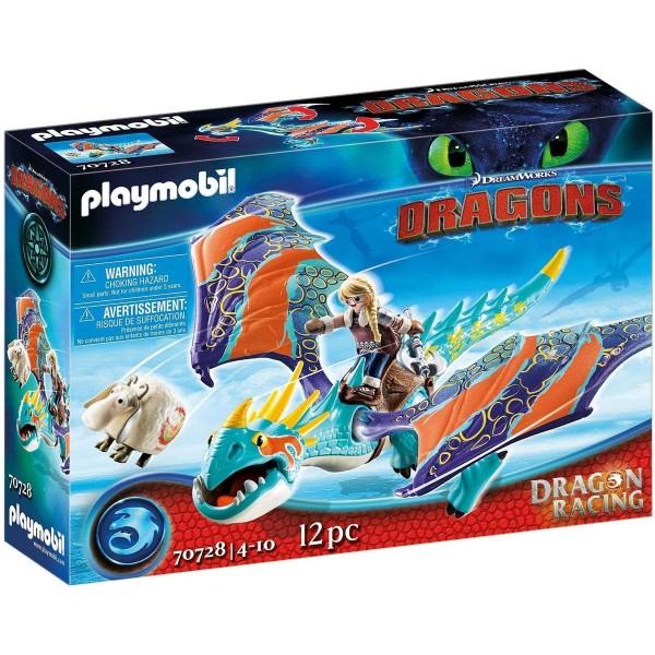 PLAYMOBIL® 70728 - DreamWorks Dragons - Dragon Racing - Astrid und Sturmpfeil