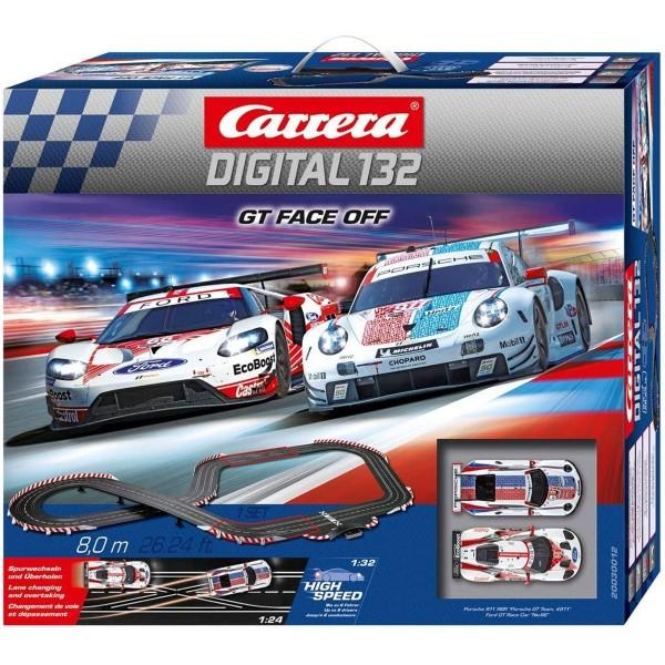 Stadlbauer 20030012 2.Wahl - Carrera Digital 132 - GT Face Off, Rennstrecke 8,00 Meter inkl. 2 Fahrz