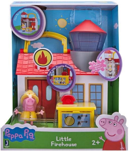 Jazwares 96586 - Peppa Pig - Kleine Feuerwehrwache