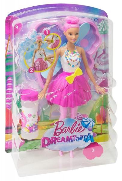 Mattel DVM95 2.Wahl - Barbie - Dreamtopia - Puppe, Seifenblasen-Fee