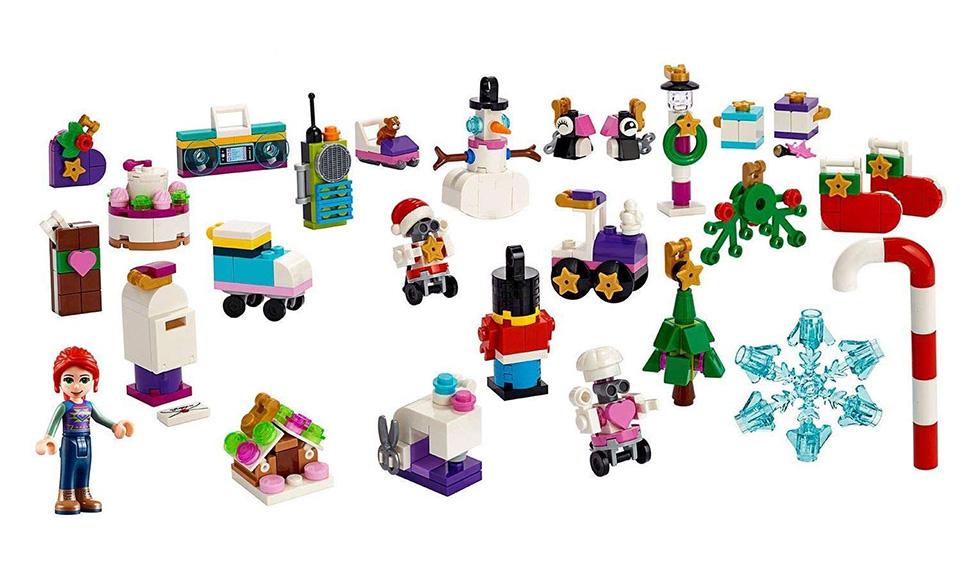 Lego 41382 - Friends - Adventskalender 2019   Rappelkiste ...