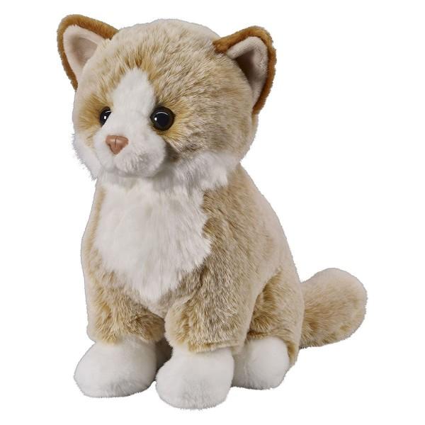 Bauer 12508 - Super Soft - Plüsch Katze 25cm beige, sitzend