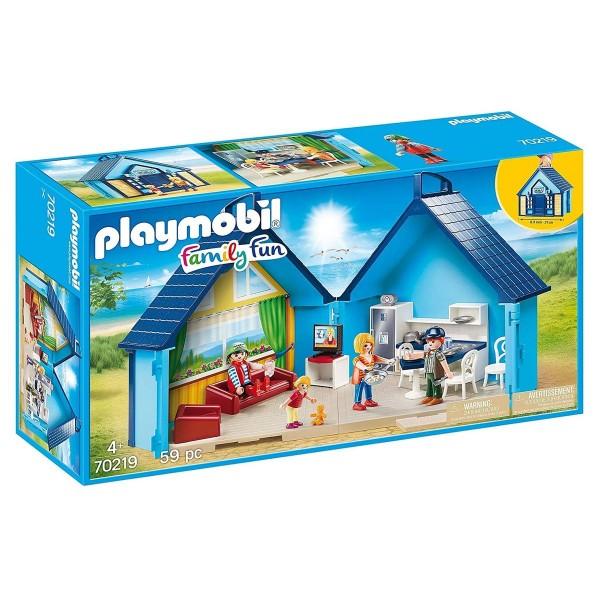 PLAYMOBIL® 70219 - Family Fun - FunPark Aufklapp-Ferienhaus