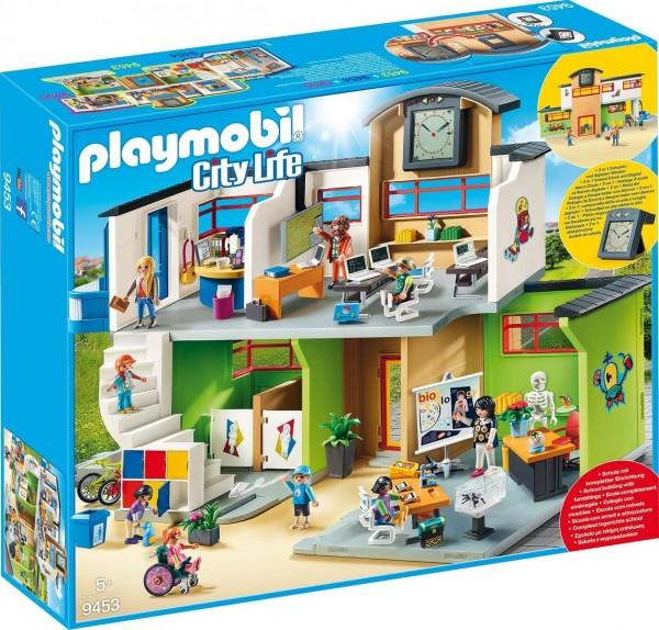 PLAYMOBIL® 9453 2.Wahl - City Life - Große Schule mit Einrichtung