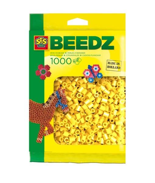 SES 00701 - Bügelperlen 1000 Stück, gelb