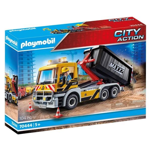 PLAYMOBIL® 70444 - City Action - LKW mit Wechselaufbau