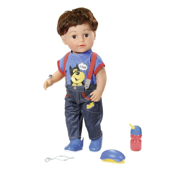 Zapf 825365 - BABY born - Bruder, interactive Puppe, 43 cm