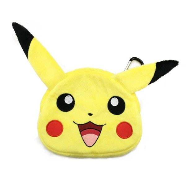 DIV 3DS-496U - Pokémon - Plüschtasche für Nintendo 3DS XL, 2DS, Pikachu