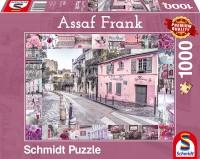 Schmidt 59630 - Premium Quality - Assaf Frank - Romantische Reise, 1000 Teile Puzzle