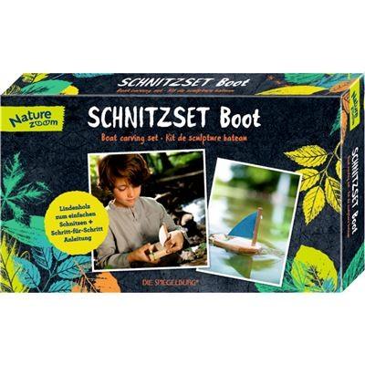 Coppenrath 13885 - Die Spiegelburg - Nature Zoom - Schnitzset Boot