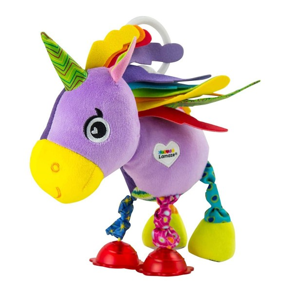 Tomy 1008.7522 - Lamaze, Motorik-Spielzeug, Plüschfigur, Ella das Einhorn
