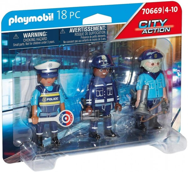 PLAYMOBIL® 70669 - City Action - Figurenset Polizei