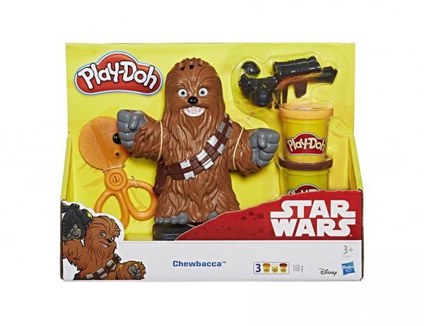 Hasbro E1934 - Play-Doh - Disney Star Wars - Chewbacca, Frisierspaß